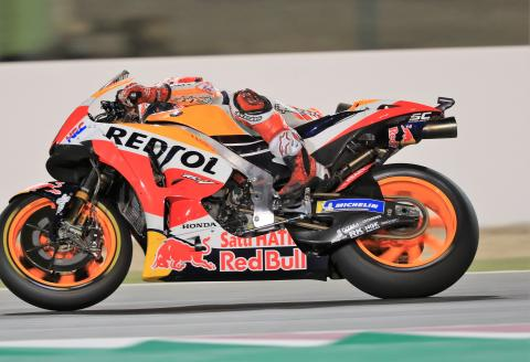 Definitely Maybe: Carbon fibre swingarms in MotoGP