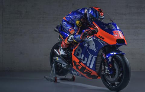 FIRST LOOK: Tech3's blue, silver and orange KTM colours