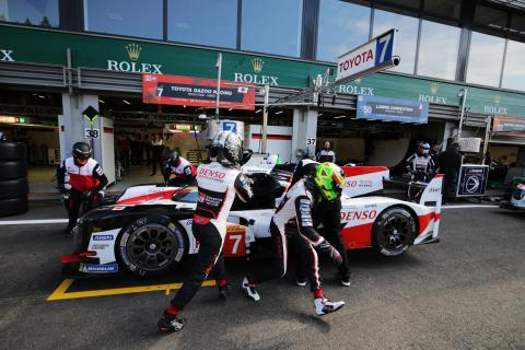 Conway leads Toyota clear in second Spa WEC practice