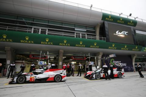 WEC 6 Hours of Shanghai - FP1 Results