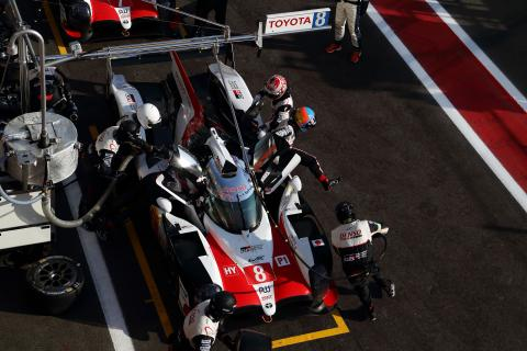 WEC 6 Hours of Spa - Starting Grid