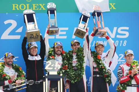 Toyota takes Le Mans victory, Alonso wins on debut
