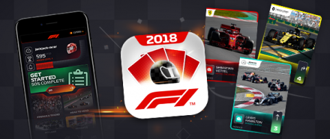 F1 Trading Card Game 2018 launches on Google Play