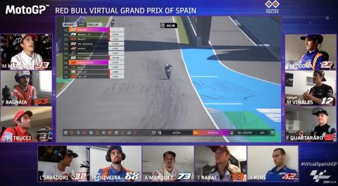 Results: MotoGP Virtual Grand Prix of Spain
