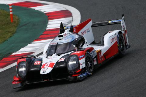 Toyota #8 scores Fuji WEC victory despite penalty