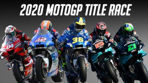 2020 MotoGP season visualiser