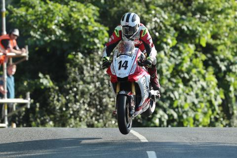 William Dunlop has died in practice at Skerries