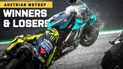 Austrian MotoGP - The Winners and Losers