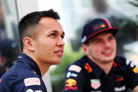 "Albon knows he needs to ""close the gap"" to Verstappen"