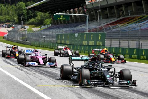 F1 Styrian Grand Prix 2020 - Starting Grid
