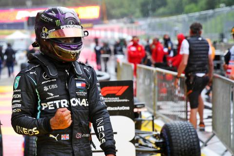 How 'out of this world' Hamilton proved he's F1's best in the wet