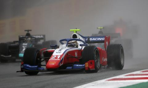 Shwartzman marches to F2 victory over unlucky Tsunoda