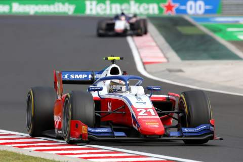 Shwartzman charges to victory in Hungary F2 opener