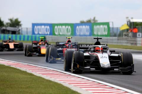 F2 Hungary - Feature Race Results