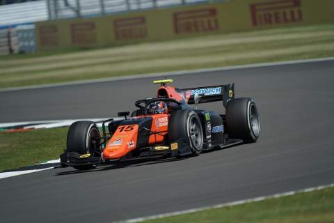 Drugovich storms to sensational maiden Formula 2 pole at Silverstone