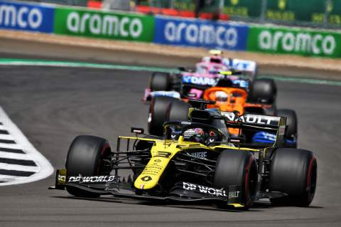 F1 British Grand Prix 2020 - Race Results