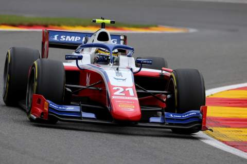 Shwartzman storms to Spa sprint race win, takes F2 points lead