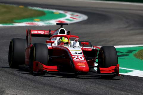 Schumacher claims first F2 victory of 2020 at Monza