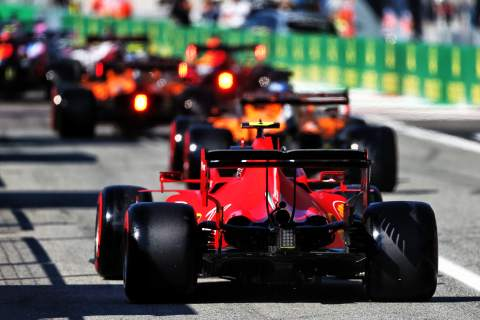 F1 Italian Grand Prix 2020 - Starting Grid