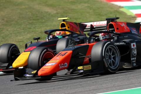 FIA F2 Tuscany - Feature Race Results