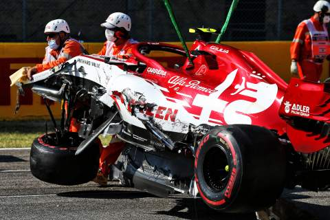'The worst thing I've ever seen' - F1 drivers react to restart chaos