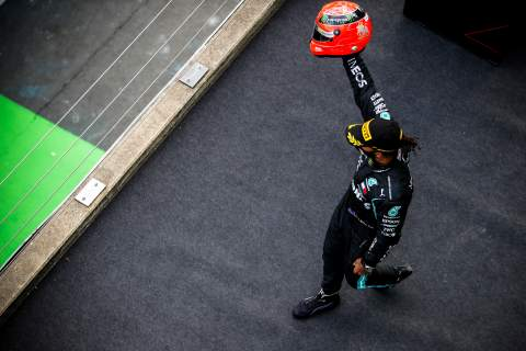 """Why F1's GOAT debate is """"not important"""" to Lewis Hamilton"""