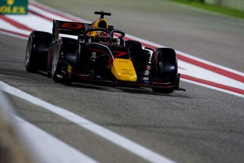 Tsunoda storms to Sakhir F2 feature race win, Schumacher on the cusp of title