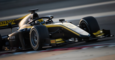 Guanyu Zhou storms to dominant F2 pole position in Austria
