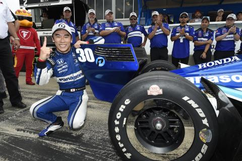 Takuma Sato bests Graham Rahal for RLL Barber lockout