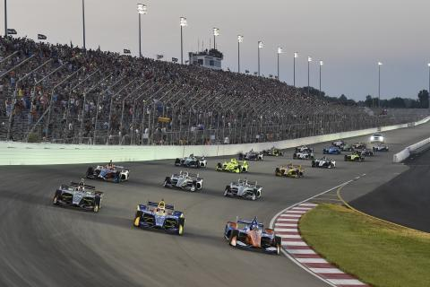 IndyCar Bommarito 500 - Race Results