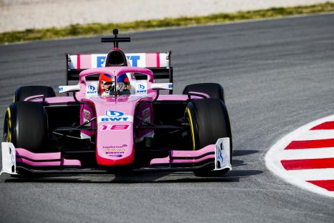 F1 tests 'best preparation' for Calderon's step up to F2