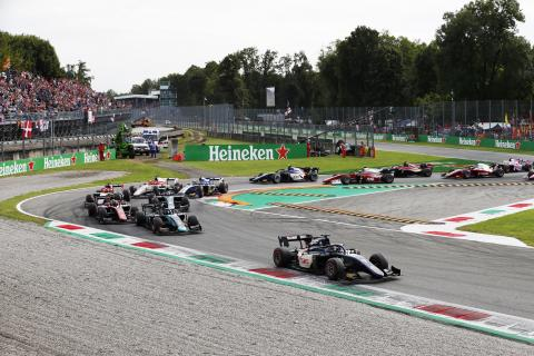 F2 Italy - Feature Race Results