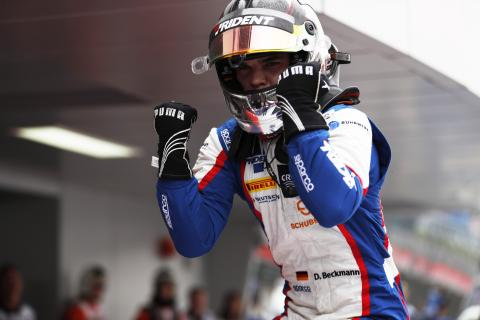 Beckmann snatches third GP3 win from Mawson on last lap