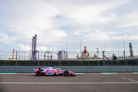 F2 Russia - Feature Race Results