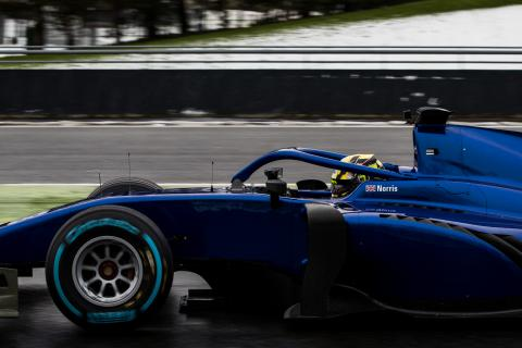 New Formula 2 cars shakedown at Magny-Cours