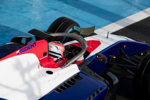 Haas F1 juniors join Trident in F2
