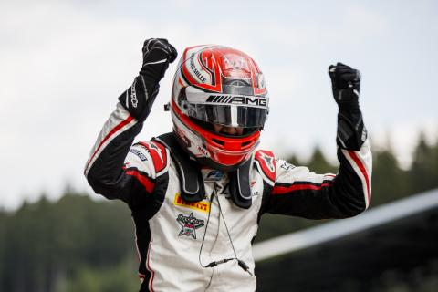 Russell beats F2 title rival Norris in Austria feature race