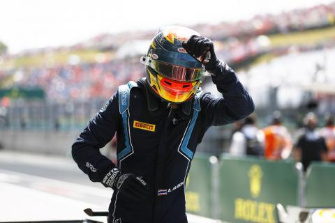 Albon beats Ghiotto to victory in F2 Hungary sprint race