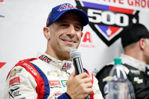 Tony Kanaan relieved to crack podium drought at Gateway