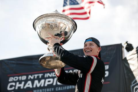 "Newgarden - ""I don't know why, but it feels more special."""