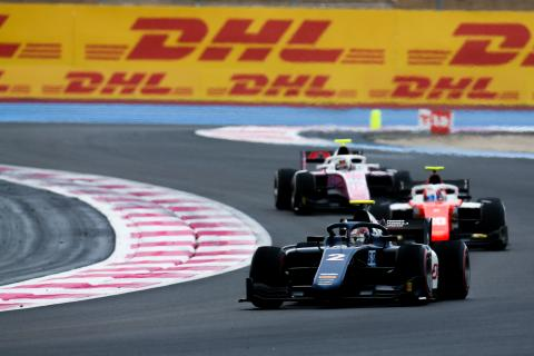 F2 France - Sprint Race Results