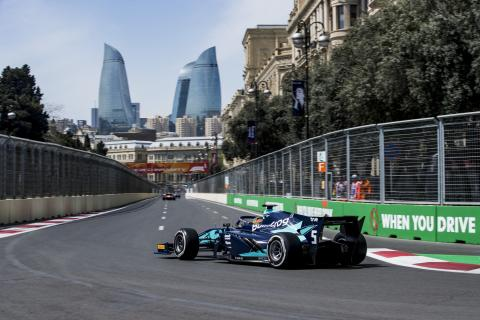 F2 Azerbaijan - Qualifying results