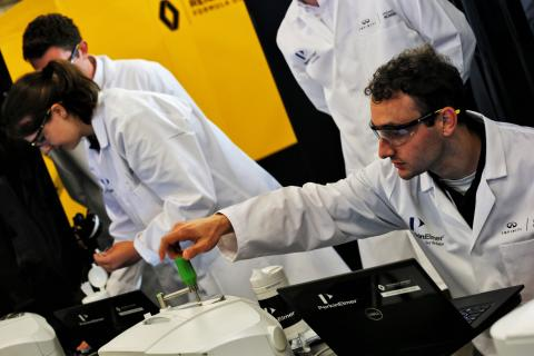 How Infiniti is developing the next generation of F1 engineers