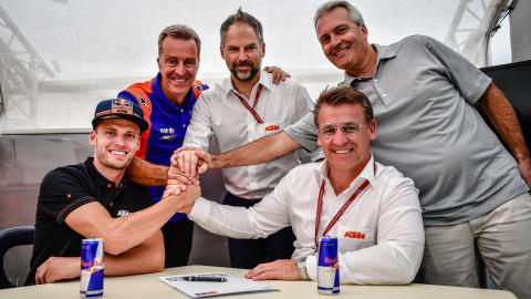 Binder to replace Syahrin at Red Bull KTM Tech3 for 2020