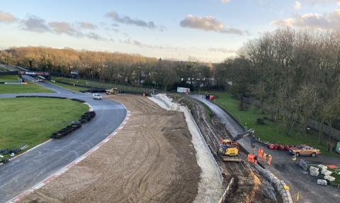 Brands Hatch undergoes 'major improvements project'