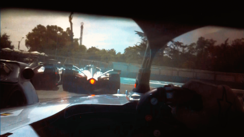 Formula E reveals new 'Driver's Eye' camera device
