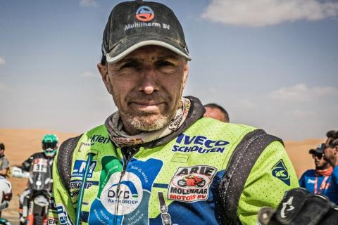 Straver has died following injuries sustained at Dakar Rally