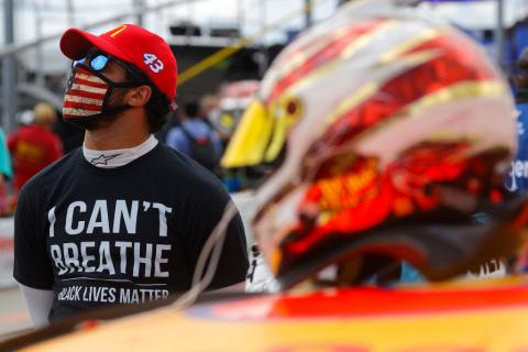 "NASCAR to ""eliminate"" racists after noose left in Wallace's garage"