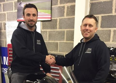 Graeme Irwin joins brothers Glenn, Andrew on BSB grid
