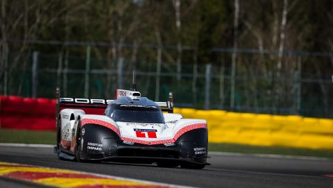 Porsche breaks Spa F1 record with modified 919 Hybrid
